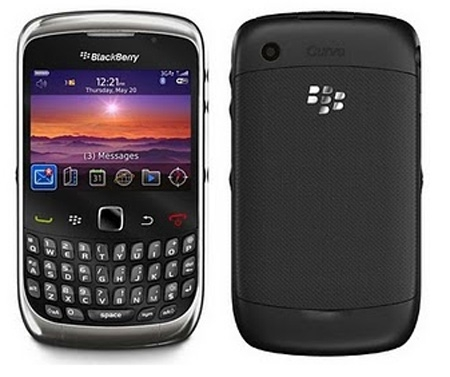 BlackBerry Curve 9300 (3G, Unlocked)